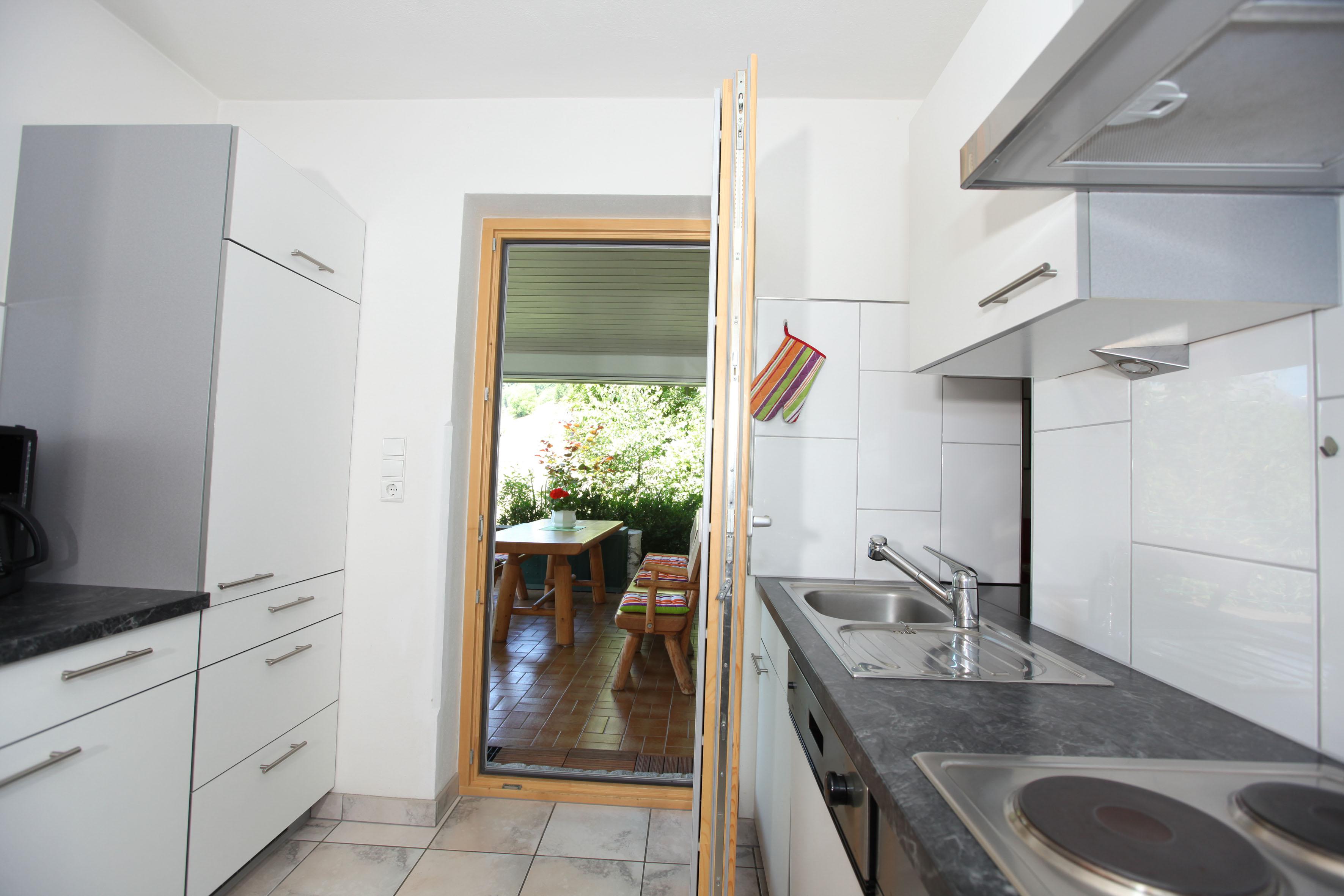Ferienhaus Grappa Küche